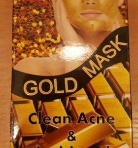 Маска для лица с золотом