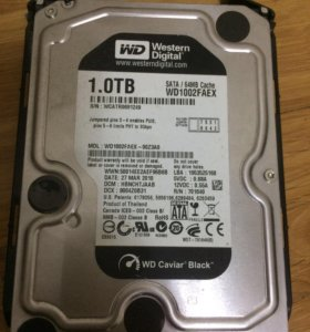 WD1002FAEX жёсткий диск 1тб