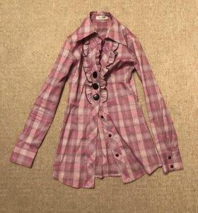 Женская винтажная блузка, рубашка