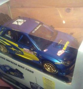 Модель Subaru Impreza WCR 2006 на радиоуправлении