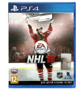 NHL 16 PS4 новый