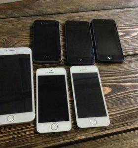 Корпус задняя крышка iPhone5 black