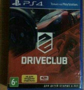 DRIVECLUB PS4 новый