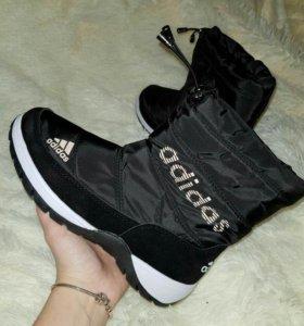Дутики Adidas размеры 35, 36, 37, 38, 39, 40