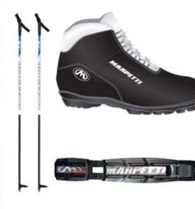 Комплект лыжNNN с ботинками