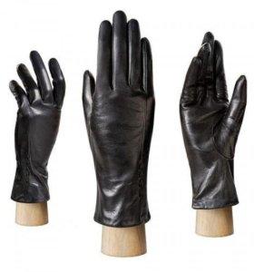 Перчатки новые кожа подкладка шерсть