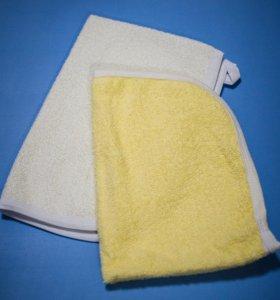Набор полотенец 2х, новый