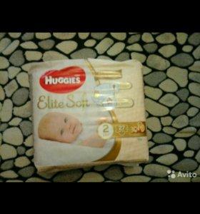 Памперсы HUGGIS Elite Soft