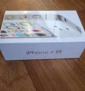 Новенький Apple 4S/16 Gb Оригинал