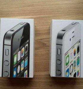 Новые iPhone 4S/16 Чёрные Белые Оригинал