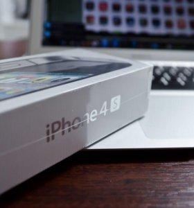 Новый iPhone 4S-16 Чёрный Новый Оригинал