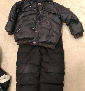 Куртка детская зима, штаны тёплые