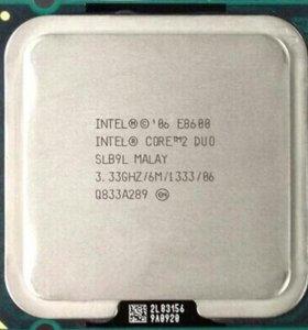 Intel core 2 duo E8600 775 сокет