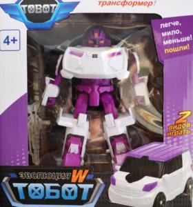 Тоботы W - робот-трансформер, новый
