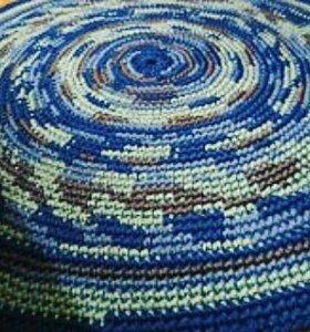 Круглые коврики ручной работы