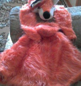 Новогодний костюм лисы.