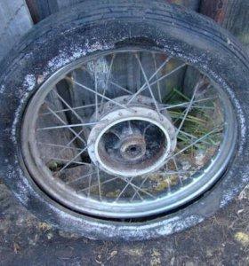 Переднее колесо мотоцикла Минск