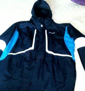 Новая мужская горнолыжная куртка р 56-60
