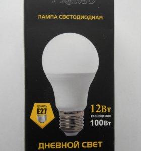 Лампа светодиодная Premio Е27 12Вт 4200К
