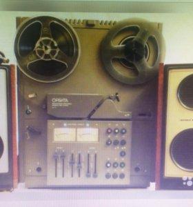 Катушечный магнитофон-приставка Орбита 108С