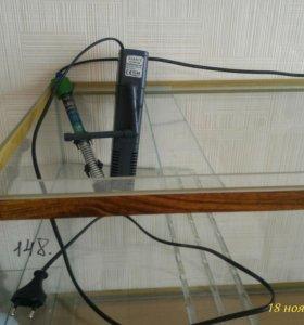 Аквариум на 150л.,фильтр для воды,обогреватель,уф
