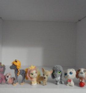 набор плюшевых игрушек