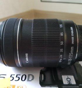 Объектив Canon Efs 18-135mm