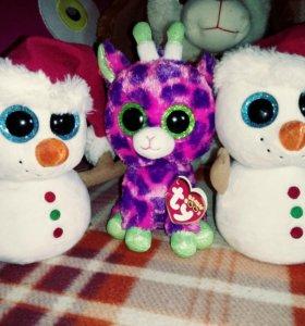 Детская игрушка снеговик