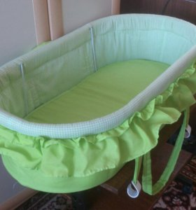 Люлька качалка переноска для младенца