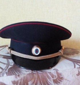 Фуражка сотрудника полиции