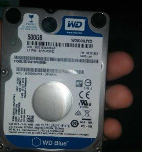 Жеский дискди wd 500gb