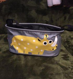 Универсальная сумочка на коляску