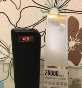 Power bank 20000 mAh аккумулятор proda black