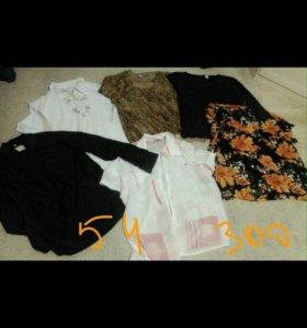 Блузка, рубашка, кофта, свитер размер 52-54