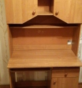 Школьный стол и шкаф