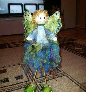 Кукла фея бабочка.