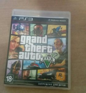 Игра на PS3 GTA 5