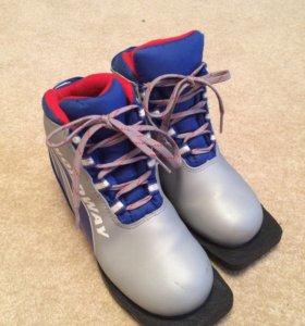 Лыжные ботинки 36 разм