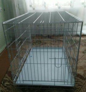 Клетка для собак 100*70*70 возможен торг