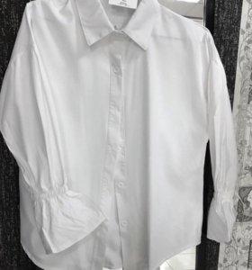 Белая рубашка блузка