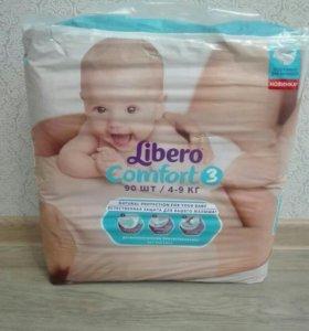 Подгузники Libero comfort 3