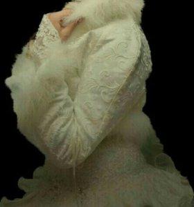 Платье свадебное трансформер с болеро