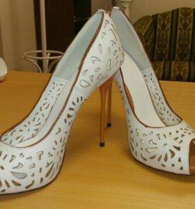 Новые кожаные туфли 👠