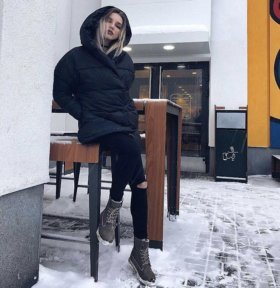 Куртка «зефирка»