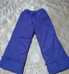 Зимние брюки-дутики