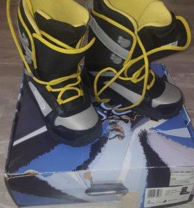 Ботинки для сноуборда р.37.5