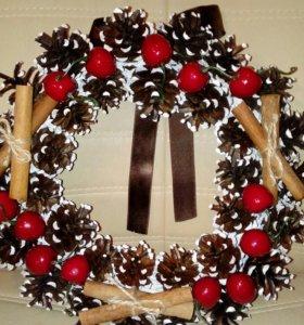 Венок рождественский