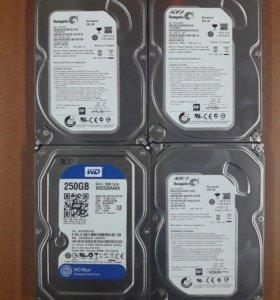 Жесткие диски от 160Gb до 500Gb