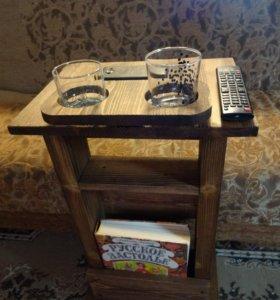 придиванный стол размер 670* 400* 300 см