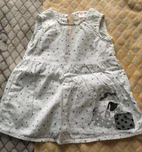 Три комплекта одежды для девочки